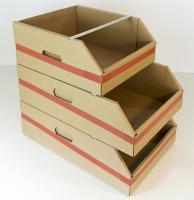 gaveta apilable cajas almacen